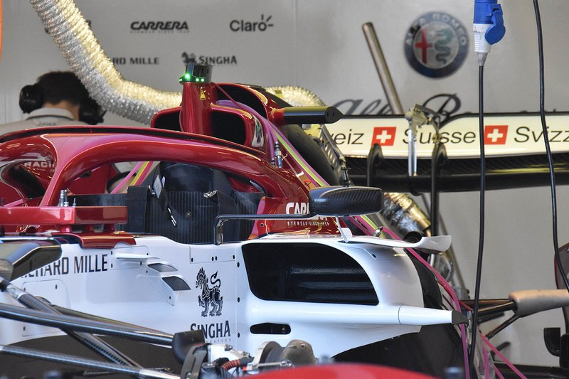 Alfa Romeo Racing C38: Chassis