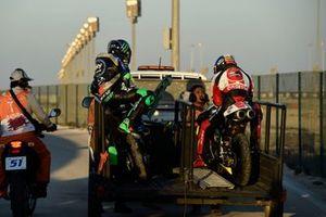 Tatsuki Suzuki, SIC58 Squadra Corse, Dennis Foggia, Sky Racing Team VR46