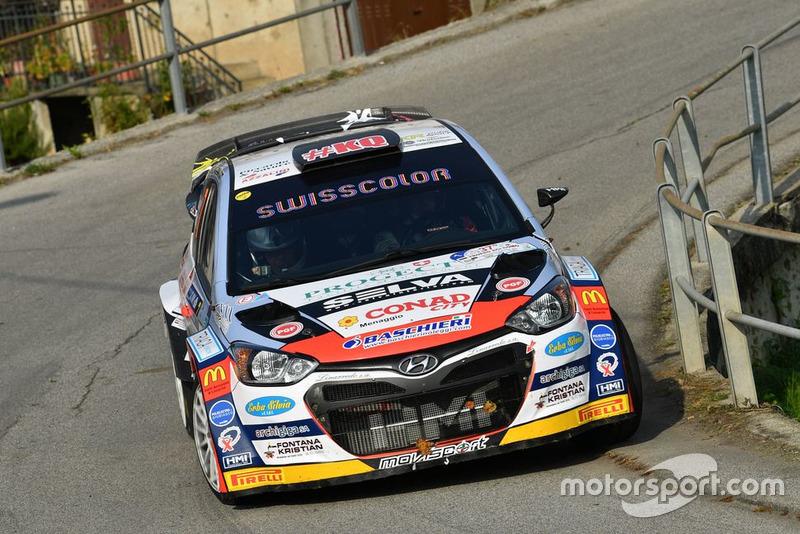 Kevin Gilardoni, Corrado Bonato, Hyundai i20 WRC, Movisport