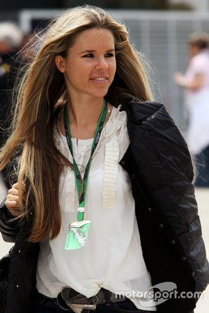 Vivian Sibold, Freundin von Nico Rosberg