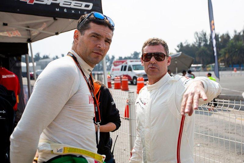 Tom Kristensen y Martin Fuentes