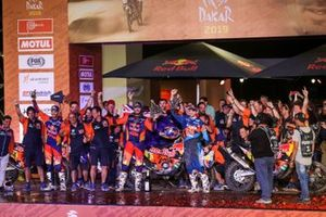 Podium: KTM Factory Team
