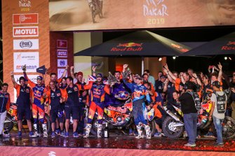 Podio: KTM Factory Team