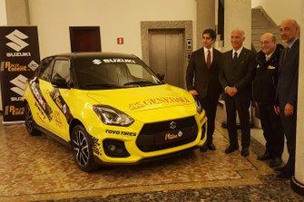 Suzuki Swift alla presentazione dell'ACI Rally Italia Talent