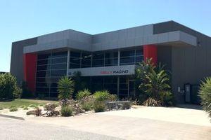 Nissan Motorsport factory in Melbourne
