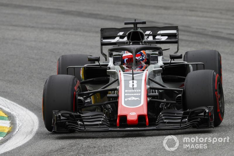 Romain Grosjean - Haas F1 Team: 8 puan