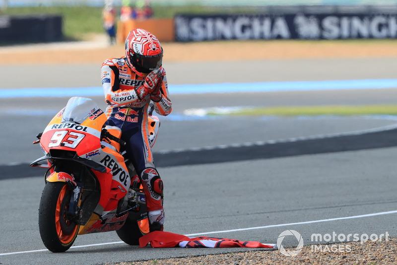 MotoGP Thailand: Marc Marquez, Repsol Honda Team