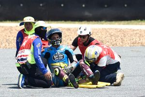 Crash Joan Mir, Marc VDS