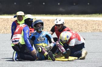 Crash Joan Mir, Marc VDS