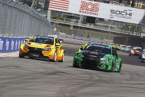 Kirill Ladygin, LADA Sport Rosnerft, LADA Vesta TCR, e Dmitry Bragin, TAIF Motorsport, Audi RS 3 LMS TCR
