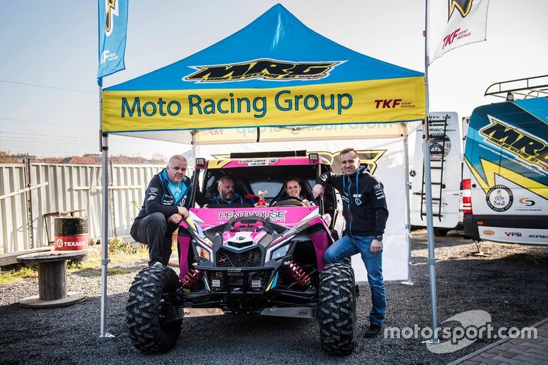 Olga Rouckova, Daniel Zelenka, Moto Racing Group