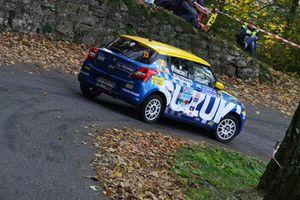 Simone Rivia, Fabio Treccani, Suzuki Swift 1.0 RSTB, Versilia Rally Team
