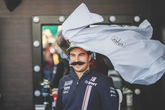 Sergio Perez, Racing Point Force India F1 Team at Movember Foundation