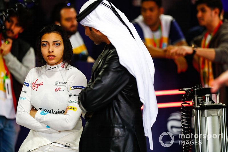 Amna Al Qubaisi, Envision Virgin Racing dans le garage
