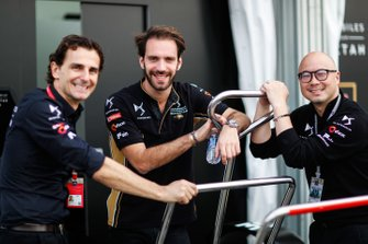 Jean-Eric Vergne, DS TECHEETAH, Edmund Chu, DS TECHEETAH President , Pedro de la Rosa, Technical, Sporting Advisor, DS TECHEETAH