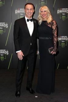 Kevin Harvick, Stewart-Haas Racing con la moglie DeLana