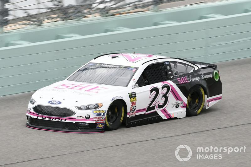 J.J. Yeley, BK Racing, Ford Fusion She Beverage Company