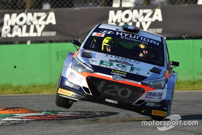 Luca Rossetti - Andrea Minchella (Hyundai i20 WRC)