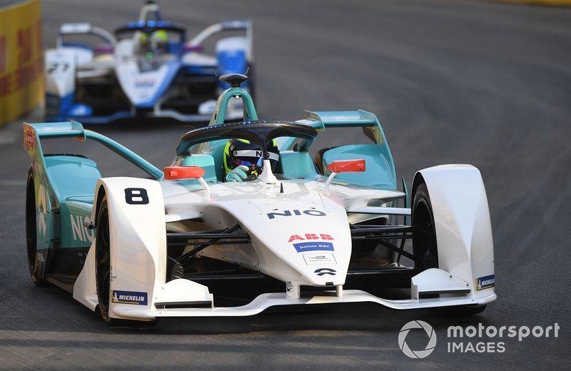 Tom Dillmann, NIO Formula E Team, NIO Sport 004 Alexander Sims, BMW I Andretti Motorsports, BMW iFE.18
