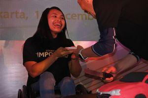 Ni Nengah Widiasih, atlet angkat berat, perayaan Toyota Avanza ke-15
