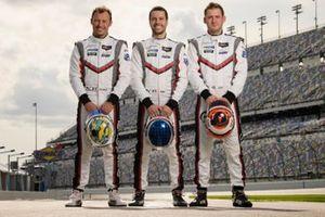 Patrick Pilet, Nick Tandy, Frederic Makowiecki, Porsche GT Team