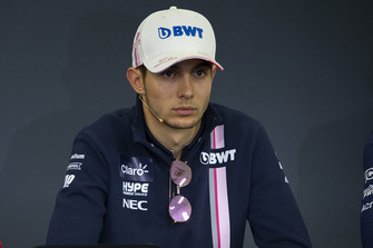 Esteban Ocon, Racing Point Force India F1 Team in Press Conference