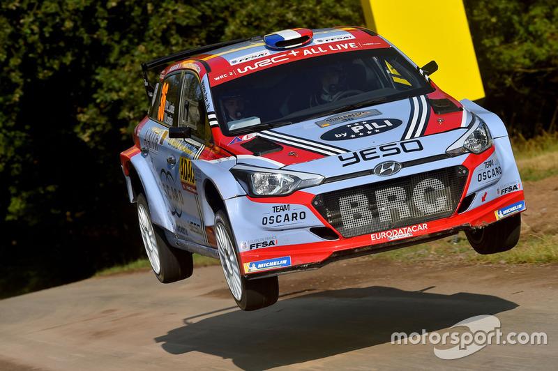 Pierre Louis Loubet, Vincent Landais, Hyundai I20 R5, BRC Racing Team