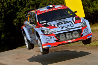 Pierre Louis Loubet, Vincent Landais, Hyundai I20 R5, BRC Racing Team