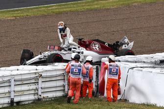 Marcus Ericsson, Sauber na crash