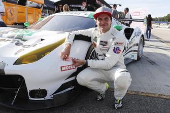Ganador del premio Motul Pole #63 Scuderia Corsa Ferrari 488 GT3, GTD: Daniel Serra