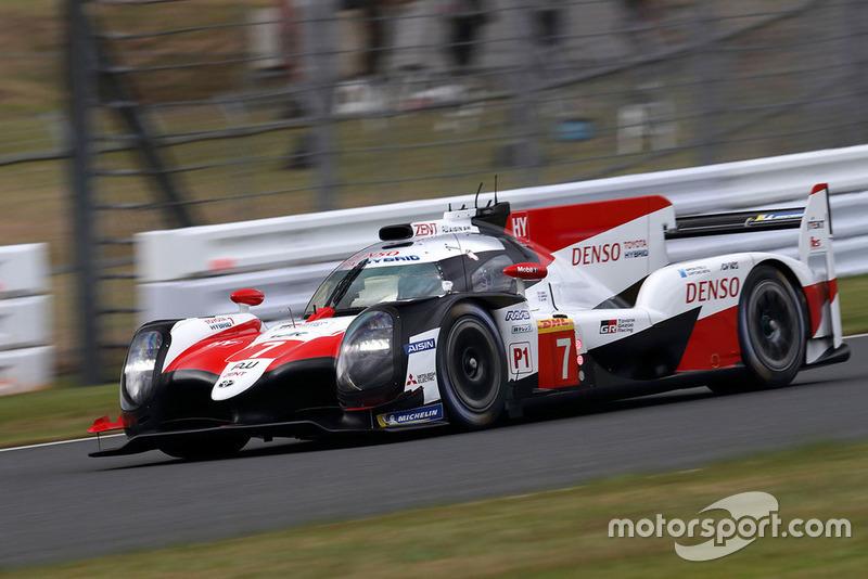 #7 Toyota Gazoo Racing Toyota TS050: Mike Conway, Kamui Kobayashi, José María López