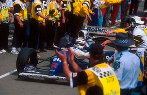 Racewinnaar Nigel Mansell, Williams FW16B