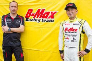 Timo Rumpfkeil, Motopark boss, Ryuji Kumita, B-Max CEO