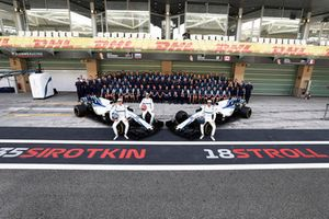 The Williams Racing team photo