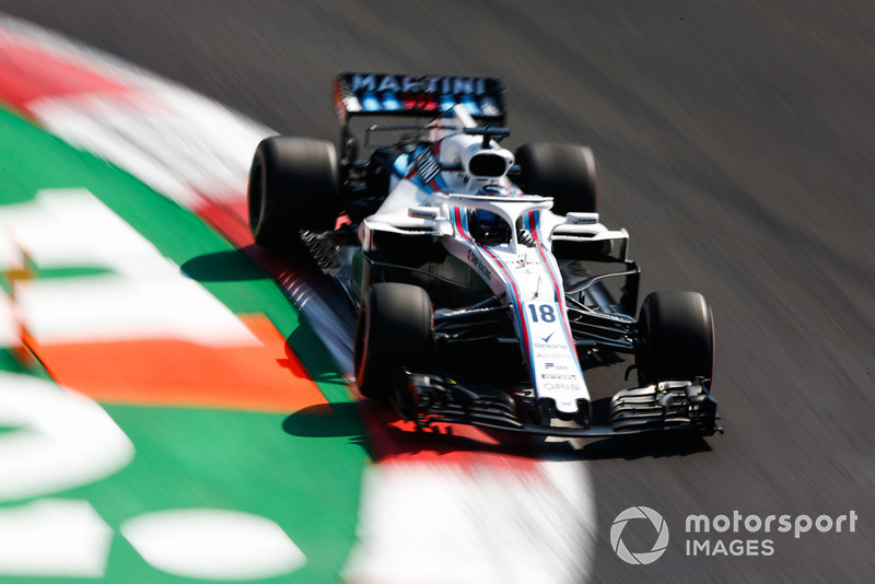 18. Lance Stroll, Williams