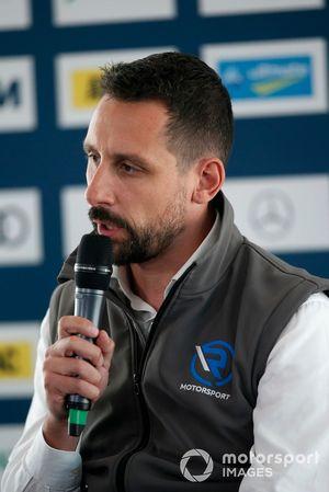 Dr. Florian Kamelger, propietario de AF Racing AG y jefe de equipo de R-Motorsport