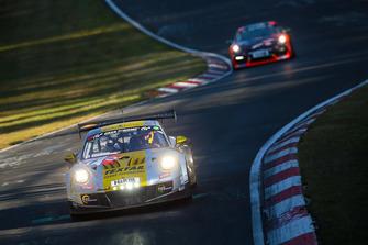 #57 Black Falcon Porsche 911 GT3 Cup MR II: Jürgen Bleul, Peter Ludwig, Manuel Metzger