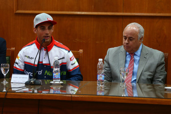 Leandro Mercado, Orelac Racing Team, Jorge Chica, consejero de deportes de San Juan