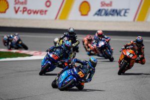 Francesco Bagnaia, Sky Racing Team VR46, Luca Marini, Sky Racing Team VR46, Miguel Oliveira, Red Bull KTM Ajo