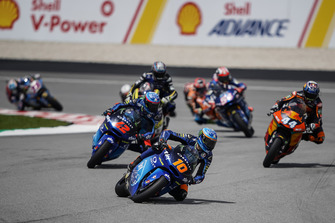 Francesco Bagnaia, Sky Racing Team VR46, Luca Marini, Sky Racing Team VR46, Miguel Oliveira, Red Bull KTM Ajo