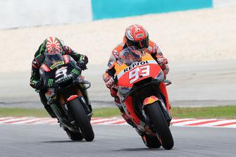 Marc Marquez, Repsol Honda Team, Johann Zarco, Monster Yamaha Tech 3