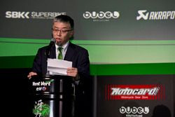 Ken Ondo, Senior Manager Kawasaki Heavy Industries Racing Department