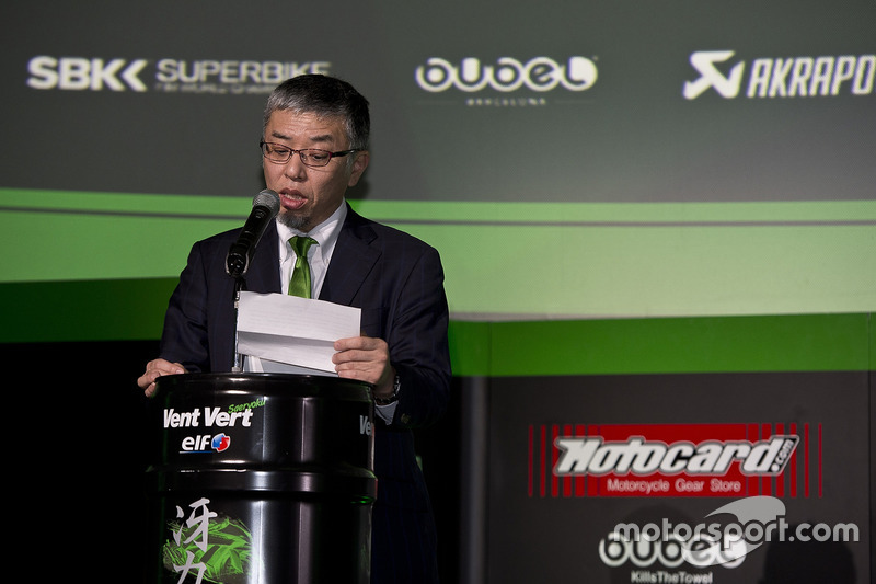 Ken Ondo, Senior Manager Kawasaki Heavy Industries Racing Department