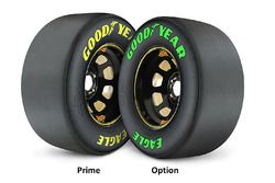 Goodyear Prime and Option tires