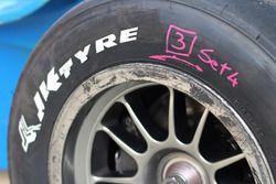 JK tyre detail