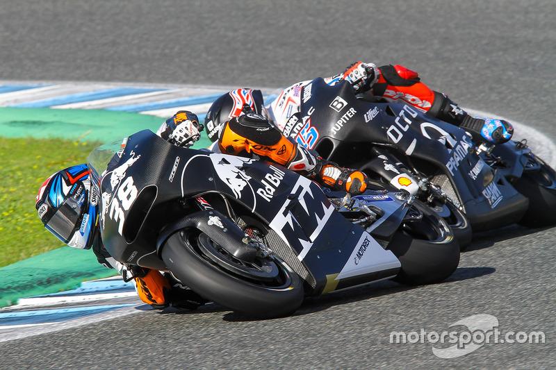 Bradley Smith, Red Bull KTM Factory Racing, Scott Redding, Octo Pramac Racing