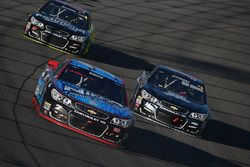 Regan Smith, Tommy Baldwin Racing Chevrolet, Tony Stewart, Stewart-Haas Racing