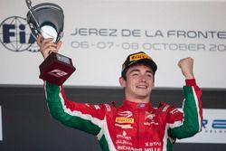 Charles Leclerc, PREMA Powerteam en el podio