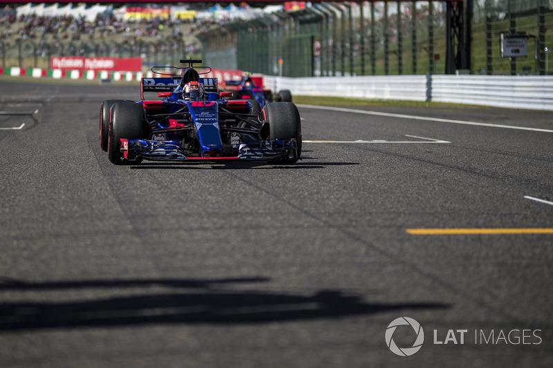 13e : Pierre Gasly (Toro Rosso)