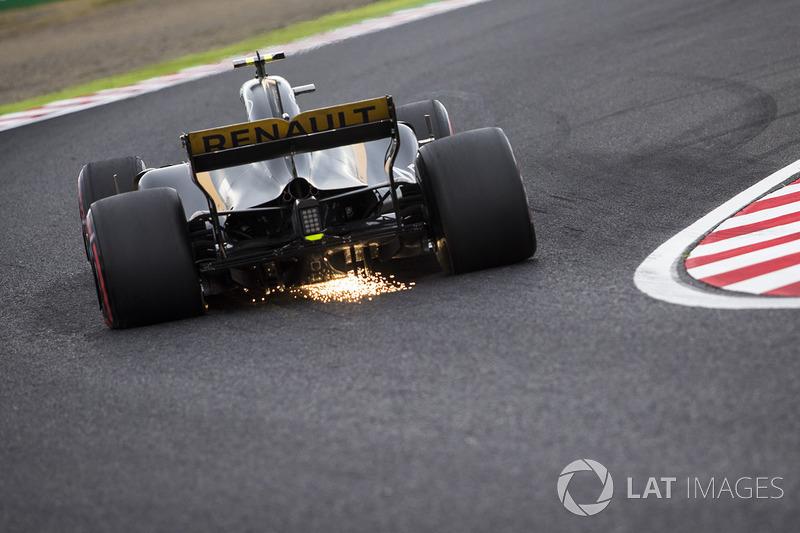 12. Jolyon Palmer, Renault Sport F1 Team RS17